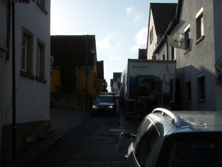 Hauptstraßenidyll